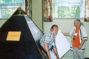 Les pyramides de Gilles Baril
