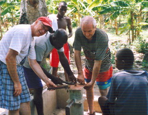 Richard en Haiti